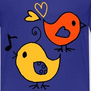 Love birds - T-shirt Premium Enfant