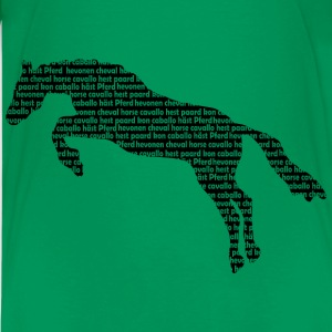 horsewords T-shirts - Teenager premium T-shirt