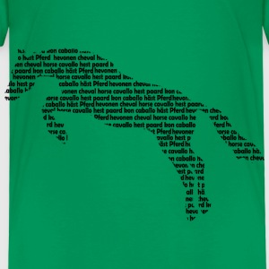 horsewords2 Shirts - Kinderen Premium T-shirt