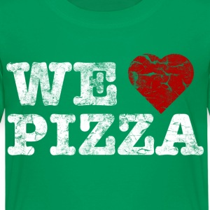 we_love_pizza_vintage_hell T-shirts - Børne premium T-shirt