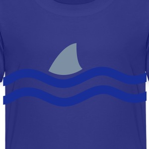 there's a shark in the water Shirts - Kids' Premium T-Shirt