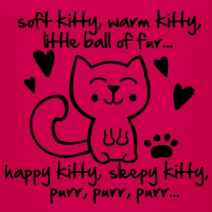 soft kitty, warm kitty, little ball of fur... T-shirts - Premium-T-shirt tonåring