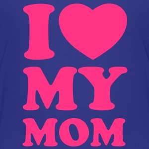 I love my mom Shirts - Kinderen Premium T-shirt