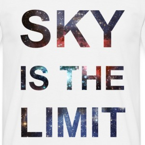 SKY IS THE LIMIT T-Shirts, Hipster T-Shirt - Männer T-Shirt