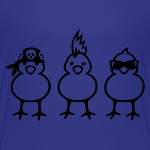 Power Chicks - Premium-T-shirt barn
