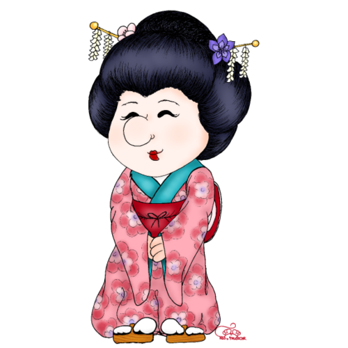 "Geisha ""Kirschblüte"""