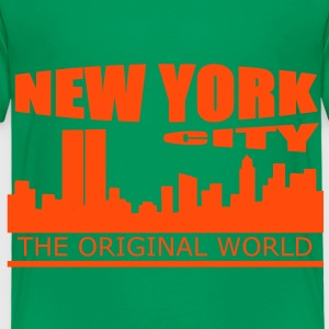 new york city Skjorter - Premium T-skjorte for barn
