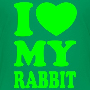 I love my rabbit Shirts - T-shirt Premium Enfant