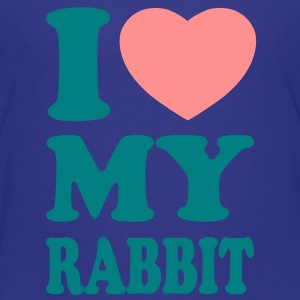 I love my rabbit Shirts - Kinder Premium T-Shirt