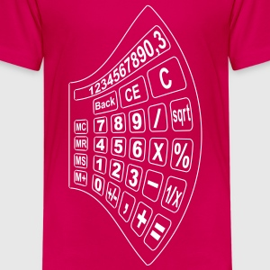 math calculator 2 Shirts - Kids' Premium T-Shirt