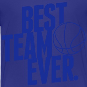 Best Team ever - Basketball Shirts - Kinderen Premium T-shirt
