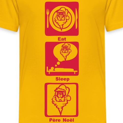 pere noel eat sleep play