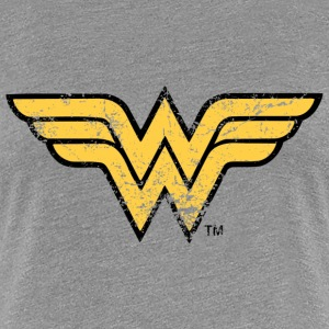 Wonder Woman Logo T-Shirt für Frauen, Superhelden T-Shirt - Frauen Premium T-Shirt