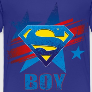 Superman S-Shield Boy børne-T-shirt - Børne premium T-shirt