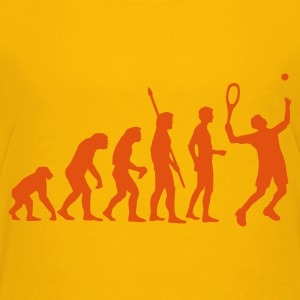 evolution_tennis_b_1c Shirts - Teenage Premium T-Shirt