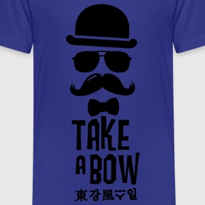 Like a swag bow tie moustache style boss t-shirts Shirts - Kids' Premium T-Shirt