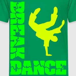 Breakdancing hip hop musik  Break-Dance T-Shirts - Teenager Premium T-Shirt