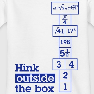 Hink Outside the Box Shirts - Kids' T-Shirt