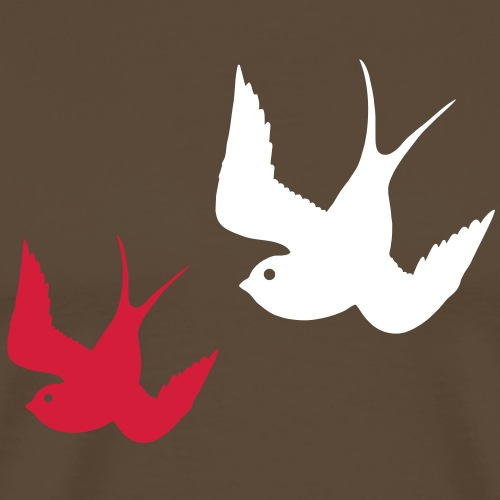 Tattoo Swallows Design Oldschool Birds Freedom