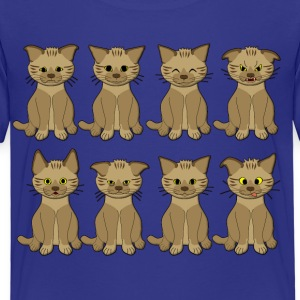 cat mood Shirts - Kinderen Premium T-shirt