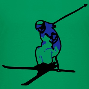 freestyle ski vektor T-Shirts - Teenager Premium T-Shirt