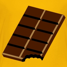 A bar of chocolate Shirts