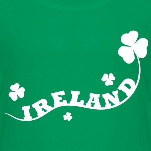st.,patricks,day,irland,irish,bier,dublin,zylinder - Kinder Premium T-Shirt