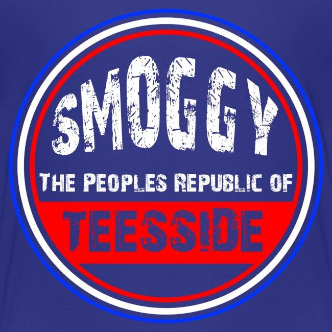 Kids Smoggy T-Shirt - Sea Blue