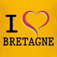 Motif ~ Tee shirt Ado i love bretagne