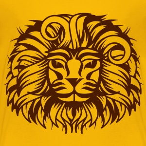 Lion's head with a proud lion's mane Shirts - Kids' Premium T-Shirt
