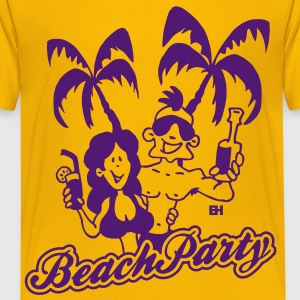 Beach Party Tee shirts - T-shirt Premium Ado