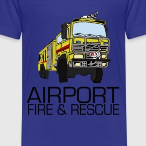 Airport fire & rescue T-shirts - Premium-T-shirt barn
