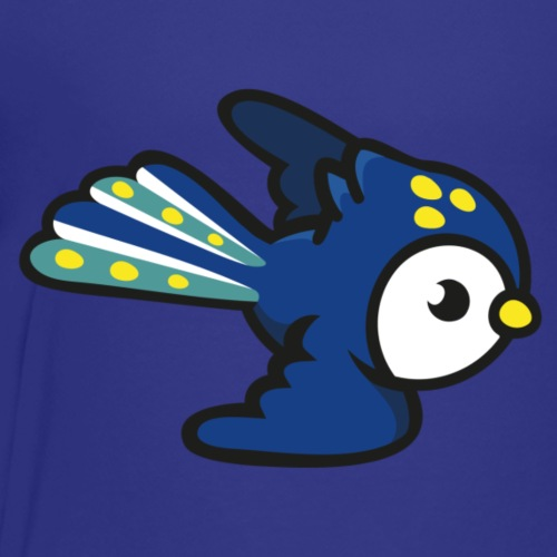 süsser blauer Papagei, Vogel, Sittich