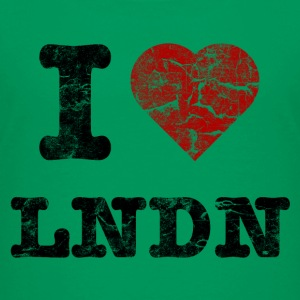 I Love LoNDoN vintage dark Shirts - Teenager Premium T-shirt