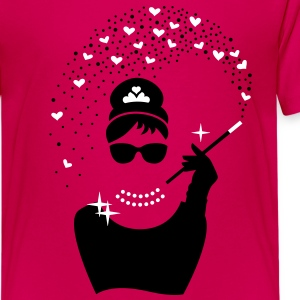 Diamant Girl - Juwelen Prinzessin - Schmuck T-Shirts - Teenager Premium T-Shirt