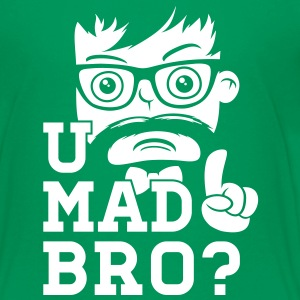 Like a cool you mad story bro moustache T-shirts - Teenager premium T-shirt