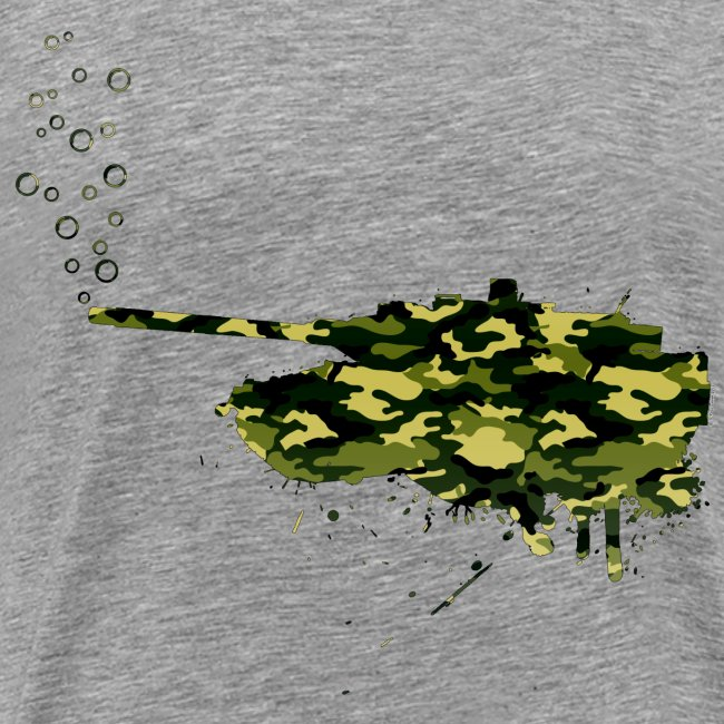 soap bubbles splash tank - Wood Camo