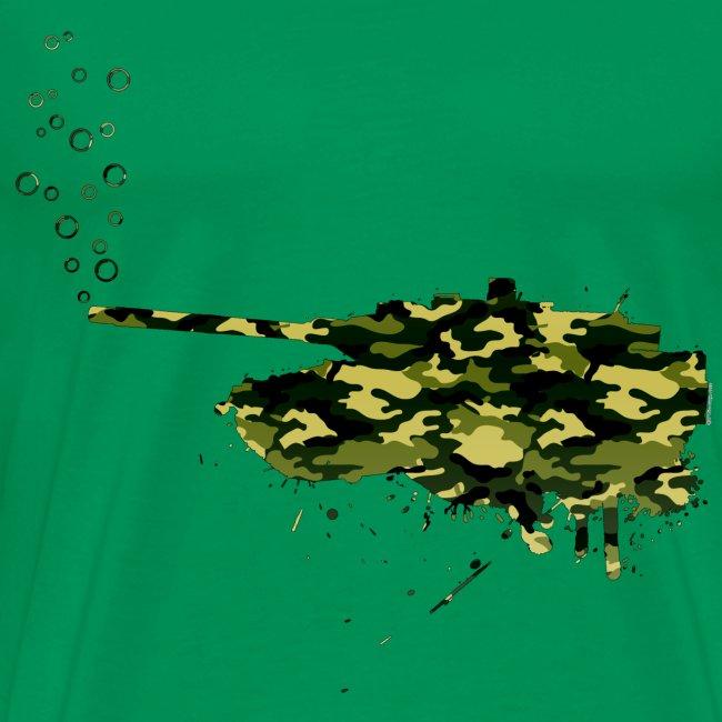 soap bubbles splash tank - Wood Camo