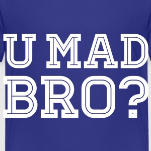 Like a cool you mad geek story bro typography Shirts - Kinderen Premium T-shirt