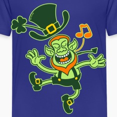 Leprechaun Dancing and Singing Shirts