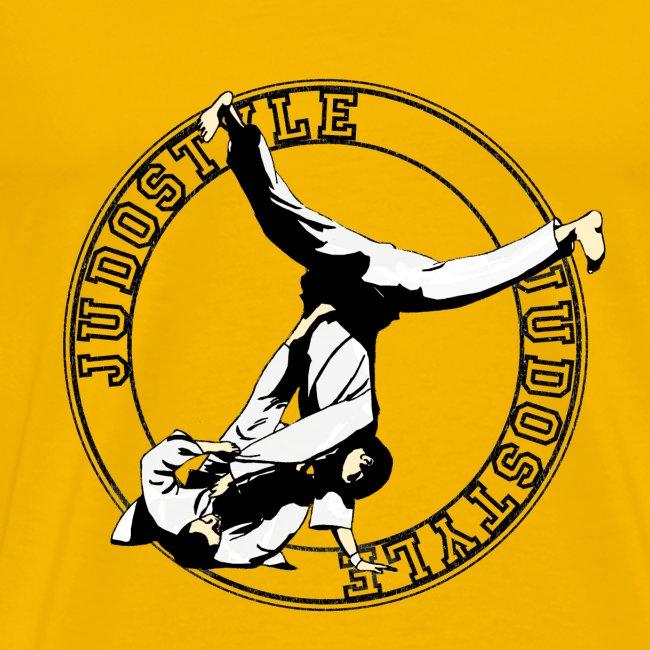 yoko cercle ventre judo dos classique
