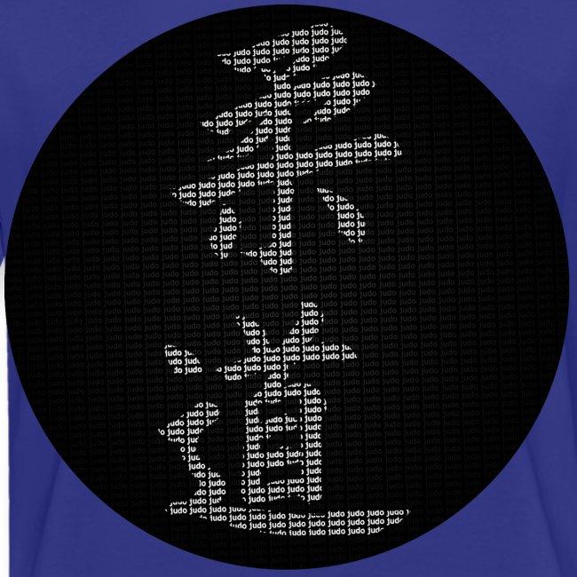 calligraphie judo moderne dos