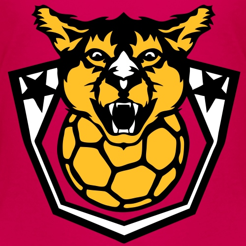 handball cougar logo sport club