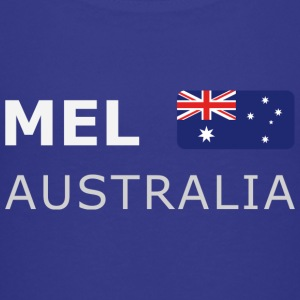 Teenager T-Shirt MEL AUSTRALIA white-lettered - Teenager Premium T-Shirt