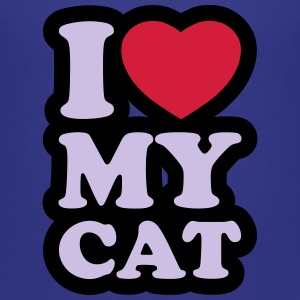 I love my cat - Camiseta premium niño