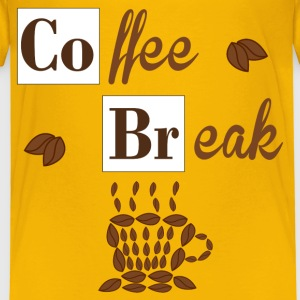 Coffee Break T-shirts - Premium-T-shirt barn