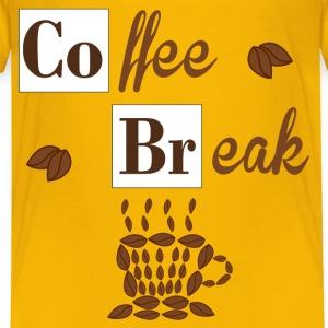 Coffee Break Shirts - Kids' Premium T-Shirt