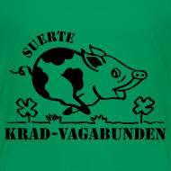 Motiv ~ Teenager T-Shirt - Glücksschein (schwarzer Aufdruck)