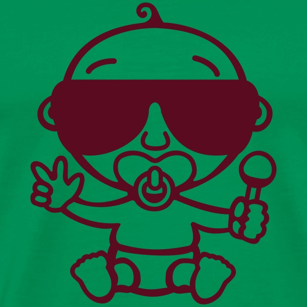 Kelly green Cool Baby T-Shirts T-Shirts - Men's Premium T-Shirt