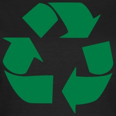 Recycling symbol Tee shirts